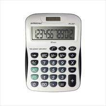 CALCULADORA DE MESA 12DIG.VISOR INC.ROLL OVER – PROCALC