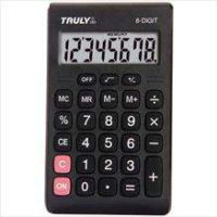 CALCULADORA DE BOLSO TRULLY 8 DIGITOS MOD.283-PROCALC